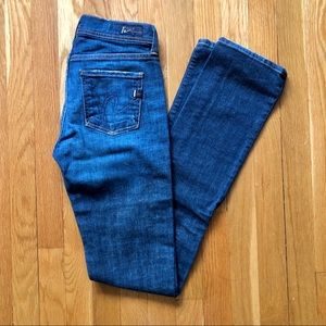Citizens of Humanity High Rise Straight Leg Jean